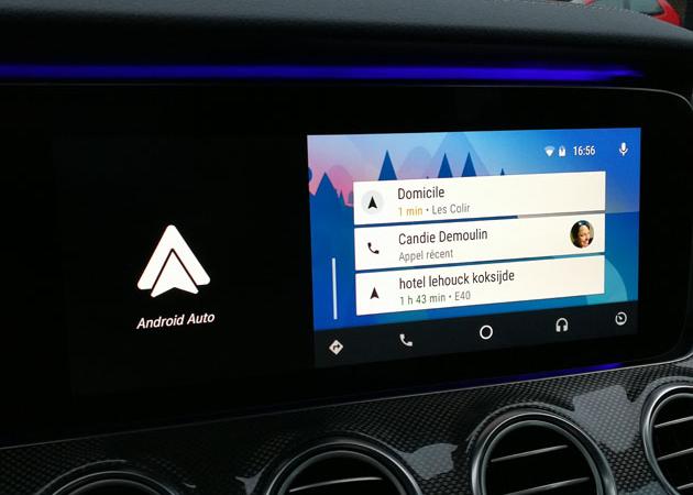 Android auto : la possibilité de relier son téléphone à sa voiture