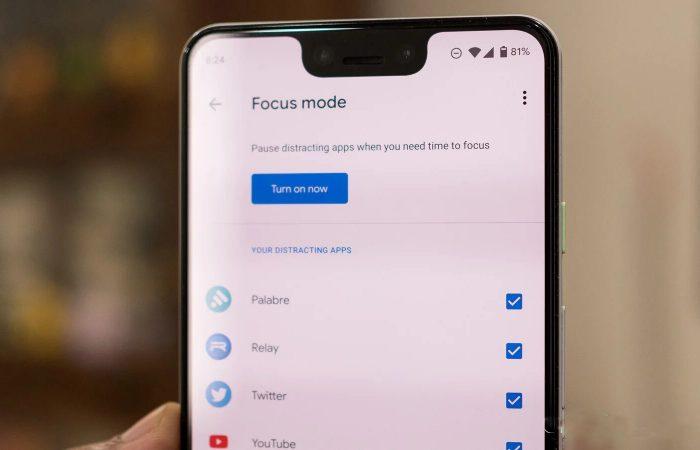 Qu'est-ce que le mode focus du nouveau Android 10 ?