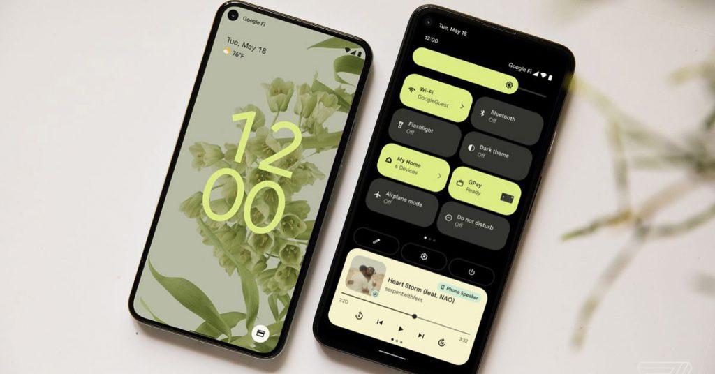 Android 12 date de sortie